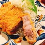 アグーとんかつ コション - 県産豚 ロースかつ150g(1.400円)