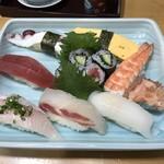 てるてる寿し - 料理写真:寿しランチ=1000円 税別