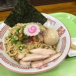 拳10ラーメン - 秋刀魚節油そば(750円)