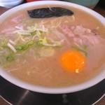 ラーメン陽向 - 卵入りラーメン 670円