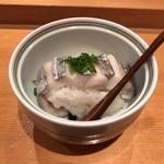 Shigeru - 太刀魚の蒸し握り