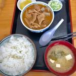 84399195 - もつ煮定食(もつ大)【料理】