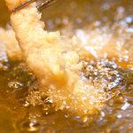 天政 - 料理写真:天婦羅はもたれない上質な油で全て揚げたてをご提供いたします