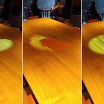 東急ステイ - ロビー・テーブル上のプロジェクションマッピング7種