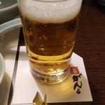 がんこ - まずはビールで一杯