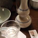 がんこ - がんこ一徹純米酒(冷)を頂きました2