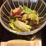 松濤館 - サラダ と おのり