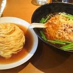 台湾料理 海鮮館  - 台湾ラーメンとミニ天津飯のセット