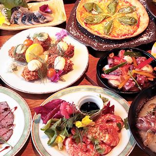 多彩なこだわり料理たち。今日食べたいものが絶対にある場所★