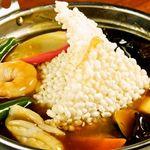 香港厨房 - 海鮮おこげ
