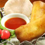 香港厨房 - チーズ春巻(2ヶ)