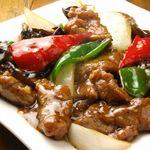 香港厨房 - 牛肉とピーマンの細切り炒め