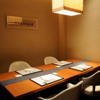 完全個室あり!記念日、お顔合わせ、特別な日、ご接待におすすめ