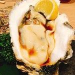 生け簀の甲羅 - 大きな生牡蠣だよ〜