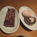 まんたろー - プチケーキ&プチロールケーキ(2018.4.18)