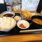 84414100 - 天ぷらは、かき揚げ、海老、烏賊、玉子