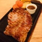 絶品どろぶたリブロースステーキ(200g) ランチセット