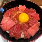 赤坂濱寿司 - 鉄火卵丼