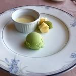 近江牛レストラン ティファニー - ランチに追加でデザートを注文!500円くらいのupです。