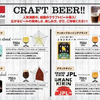 人気沸騰中!話題のクラフトビールをはじめました!