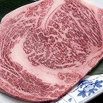 六歌仙 - 雪の宴:6,300円の「黒毛和牛ロース」がグレードアップ!!