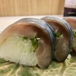 祇園 にしかわ - 「鯖寿司」1620円 (新宿タカシマヤ「京都美味コレクション」)