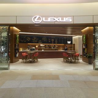 LEXUSの世界観を「食」によって表現したコンセプトカフェ