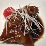 84422212 - 豚ヘレ肉の黒酢炒め