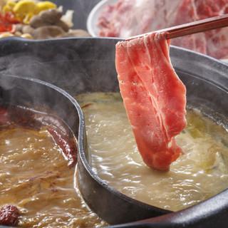 香辛料を贅沢にブレンドしたダブルスープ