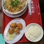 ra-menkairikiya - から揚げ定食(税込み993円)