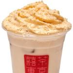 台湾茶Cafe KIKICHA TOKYO - 【冬季限定】キャラメルクリーム with ピスタチオ (トッピング)