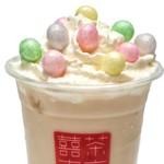 台湾茶Cafe KIKICHA TOKYO - 【春季限定】ココナッツクリーム with おいり (トッピング)