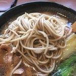 レストラン ポロ - お蕎麦の麺