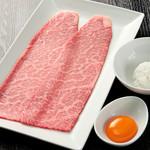 焼肉チャンピオン - ざぶすき:軽く炙ったお肉と新鮮な卵、ごはんとのコラボレーションをお楽しみください。