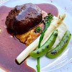 DRAWING HOUSE OF HIBIYA - 淡路産 牛肉のハンバーグ デミグラスソース