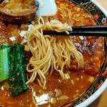 84427794 - 博多麺のような細麺!