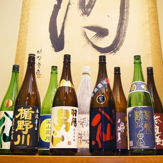 旨い魚には旨い日本酒!数量限定&季節限定の旬な銘柄がズラリ