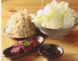 亀戸ホルモン 恵比寿店 - 塩キャベツ、もやしナムル