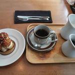 LENTO - モンブランとカフェオレ
