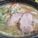 中華そば 風 - 鶏白湯黒750円
