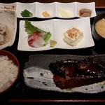 ばんやしおさい - ぶりの照焼き定食 ¥890