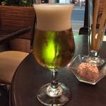 サニーサイド - グラスビール430円