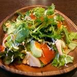 ジャングル - 彩り海鮮とアボカドのサラダ(1人用サイズ)