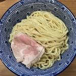 84431399 - 鴨だし辛つけ麺(中盛、2辛) ¥850 の麺