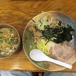 めん丸 - 料理写真:辛つけ麺生姜  710円