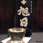 麦酒庵 - 十字旭日 純米原酒