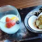 蒼天 - 杏仁豆腐とアイス