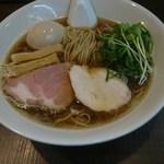麺's Natural - 煮干SOBA750円+味玉100円