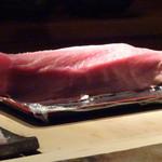 菊鮨 - 鮪・・美しい