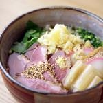 分讃岐うどんあ季 時譚 - 鴨うどん1080円